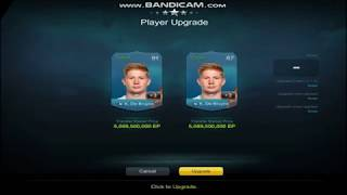 FIFA Online 3 Kevin De Bruyne NHD Upgrade to +3