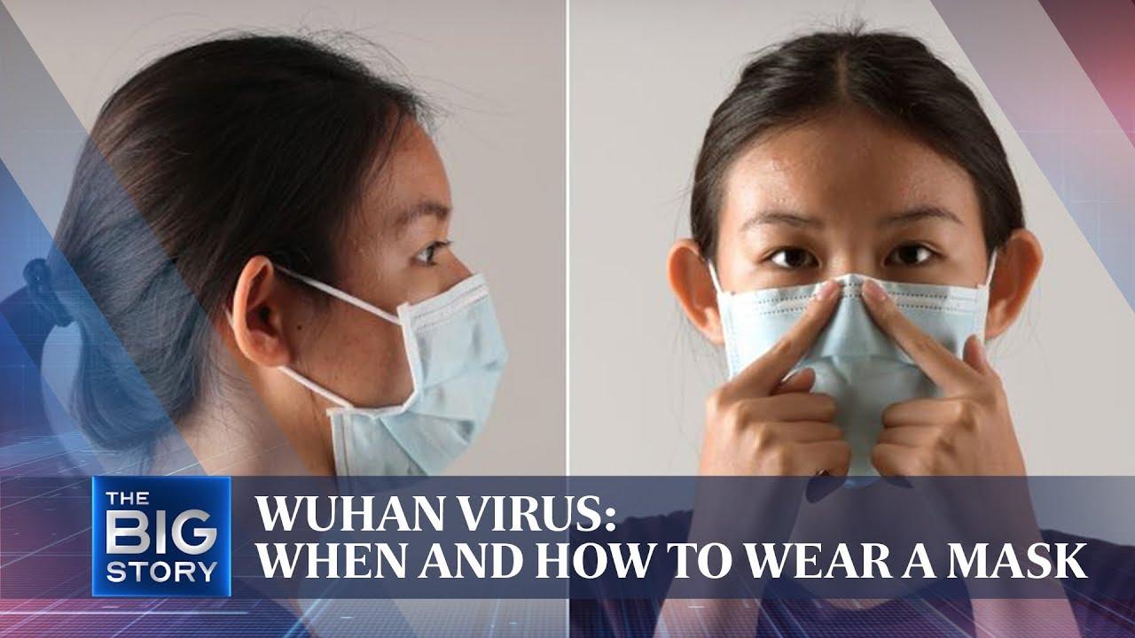 surgery mask virus
