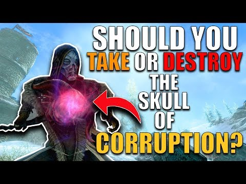 Should You DESTROY The Skull Of Corruption? | Hardest Decisions In Skyrim | Elder Scrolls Lore