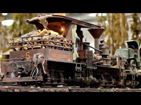 SCALE MODEL TRAINS AMAZING DETAILS RAILWAYS IN TRACK G / Modll-Hobby-Spiel Leipzig 2016