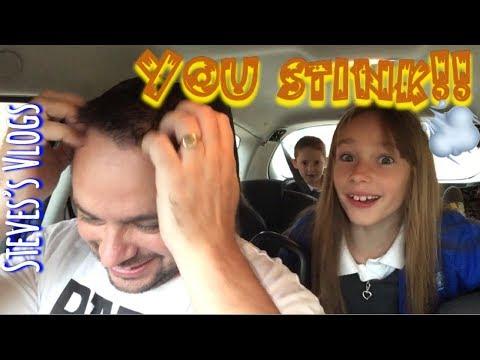 You smell | Steve's Vlogs