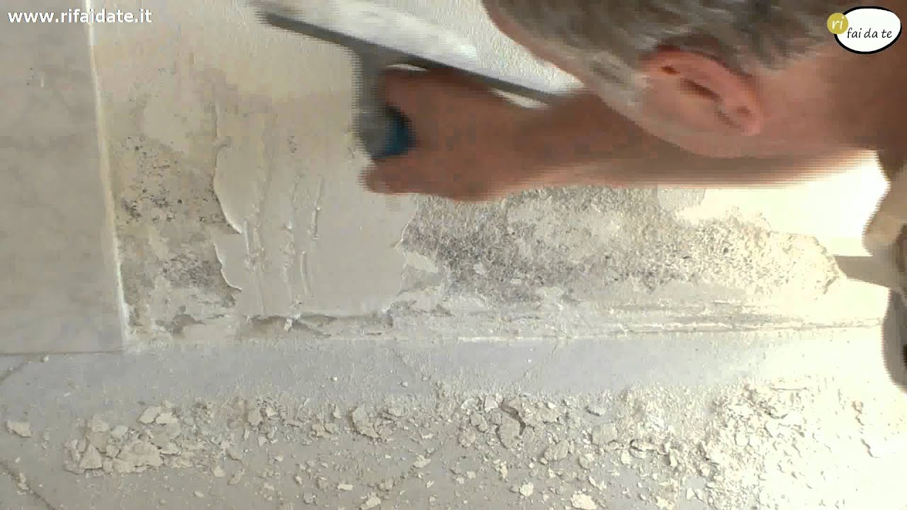 Muro Bagnato Cosa Fare rimuovere l'umidità e la muffa dai muri
