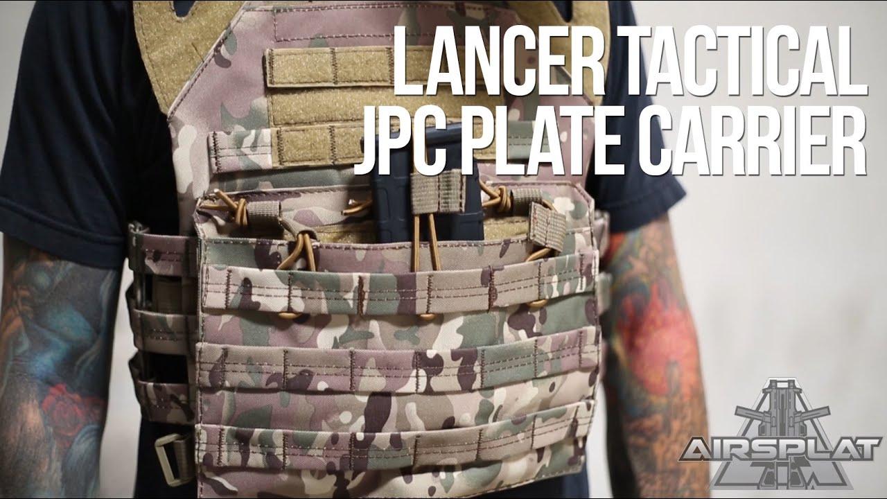 Download Lancer Tactical JPC Airsoft Plate Carrier Vest - AirSplat on Demand