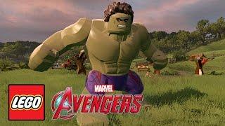 LEGO Marvel's Avengers - Gameplay Demo @ GamesCom 2015 @ HD ✔