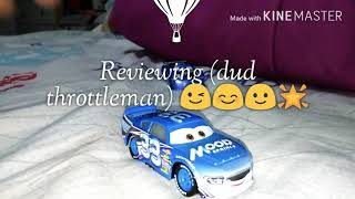 Mattel Disney cars 3 (dud throttleman) 😉😊🙂😃🌟