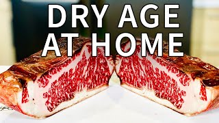 How to dry aġe steak at home, easier than you think!!!