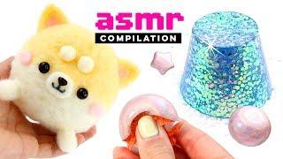 Satisfying ASMR - Needlefelting, Clay Cracking, Jelly Cutting! Relaxing Viral DIYs