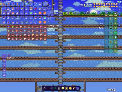 All items map for terraria 1 2 4 1 youtube