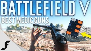 Battlefield 5 Best Medic Guns and Skill Trees!