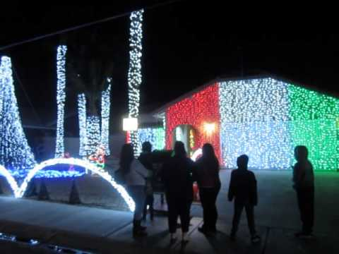 Candy Cane Lane Cathedral City 2014 - Candy Cane Lane Cathedral City 2014 - YouTube