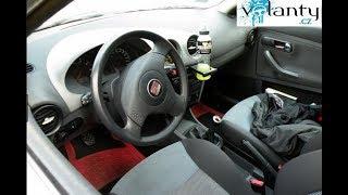 Ako rozobrať volant / airbag Seat Ibiza 6L TIP II.