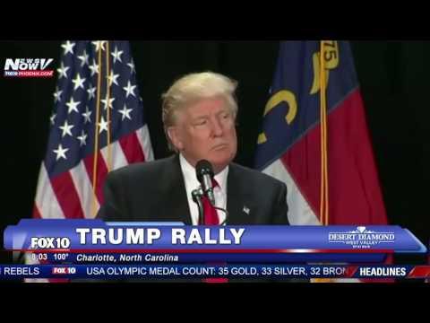 FULL: Donald Trump Rally Charlotte, North Carolina 8/18/16 FNN