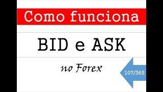 COMO FUNCIONA BID E ASK NO FOREX - Vídeo 107 de 365