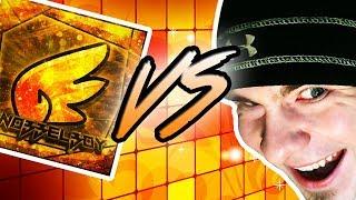 Knobbelboy vs EVW ~ Geometry Dash RACE / A LOT ON THE LINE!!!