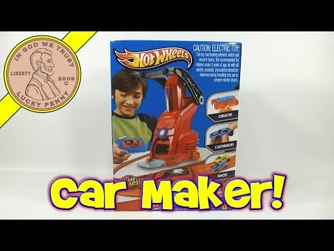 Hot Wheels Car Maker Set - Create Your Own Hot Wheels Cars