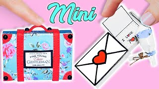Valentine's Day DIY: Miniature Realistic Hacks and Crafts Suitcase and Gift