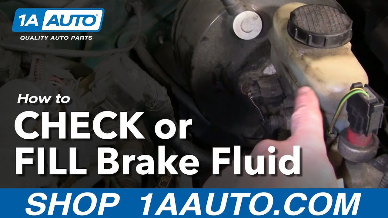 auto repair how do i check or add brake fluid to my car or truck  [ 1280 x 720 Pixel ]