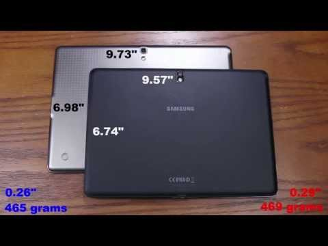 "Samsung Galaxy Tab S 10.5"" vs Samsung Galaxy Tab Pro 10.1"" Full Comparison"