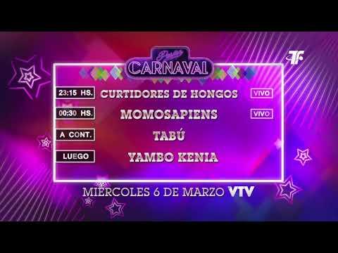 Agenda Carnaval – Miércoles 6 de Marzo