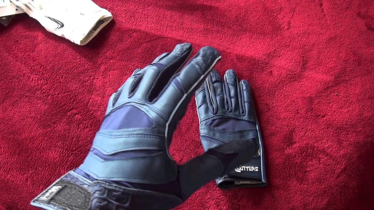 Ep 61 Cutters X40 C Tack Revolution Review Football Gloves Youtube