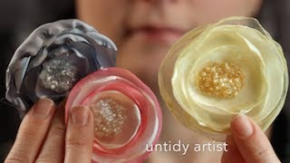 How to make a Hair Flower - Satin Singed