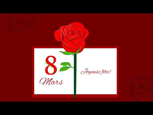 Joyeuse fête à toutes les femmes -  08 Mars 2019