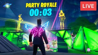 *NEW* FORTNITE PARTY ROYALE EVENT NOW! CLAIM FREE NEON WINGS BACKBLING! (FORTNITE BATTLE ROYALE)