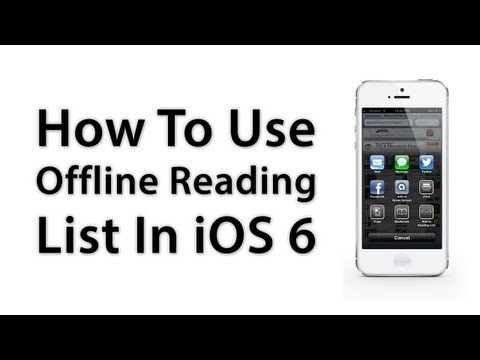 [iOS Advice] How To Use Offline Reading List For Safari - New Features In iOS 6
