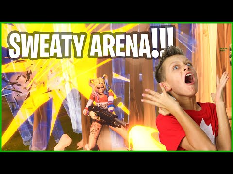GETTING RUN OVER BY SWEATS IN ARENA!!!