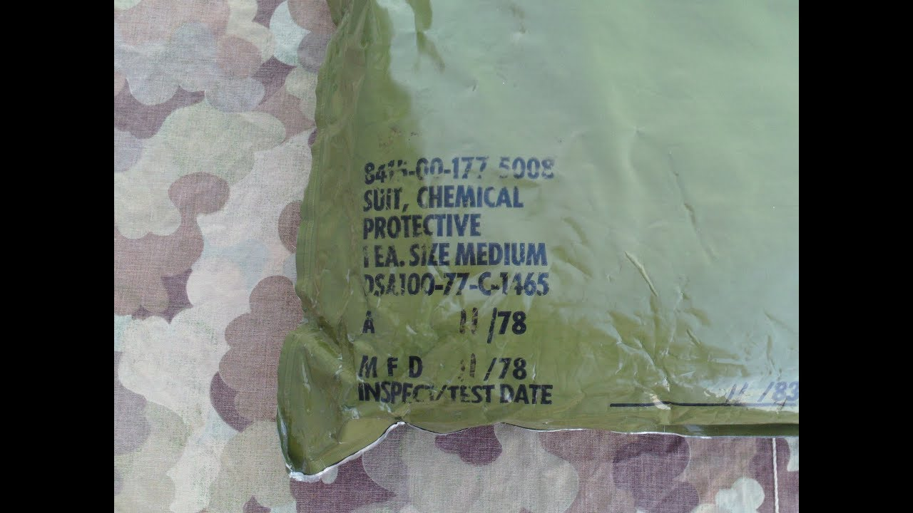 OD green USGI MOPP suit/ Chemical suit review