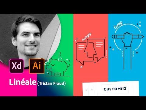 Masterclass avec Tristan Fraud (Linéale) | Adobe France