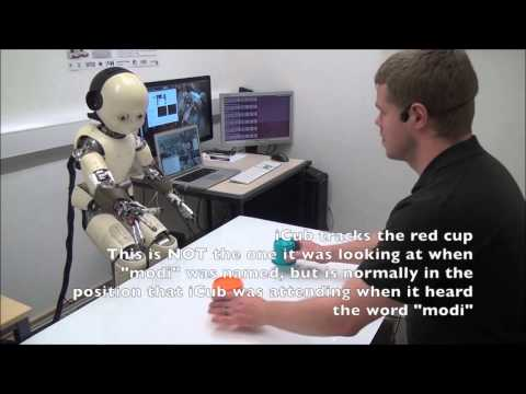 PLoS ONE : Posture Affects How Robots and Infants Map Words to Objects