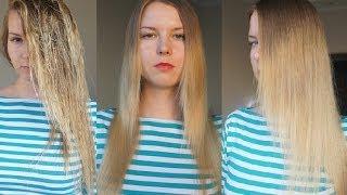 КЕРАТИНОВОЕ ВЫПРЯМЛЕНИЕ волос в домашних условиях: лучше ламинирования!(, 2013-10-13T16:54:53.000Z)