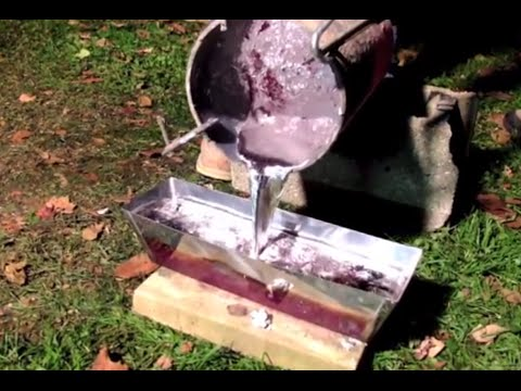 How to Melt Aluminum Cans into Ingot