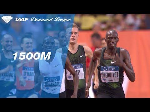 Timothy Cheruiyot 3.28.41 Wins Men