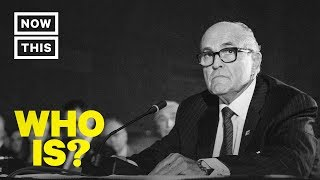 Who is Rudy Giuliani? Former New York City Mayor Turned Trump Lawyer | NowThis