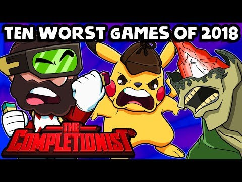 Top 10 Worst Games Of 2018  | The Completionist