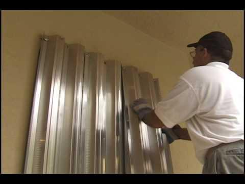 Gold Coast Hurricane Shutter - Homeowner storm Panel Installation