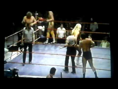 David Von Erich Terry Gordy And Michael Hayes Vs Mike Sharpe Ben Sharpe And Tom Steel