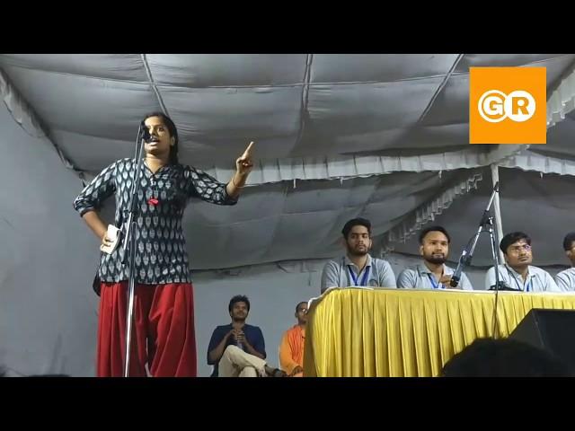 JNUSU Election 2019 | RJD Priyanka Bharti |Presidential Candidate | Full Speech Presidential Debate