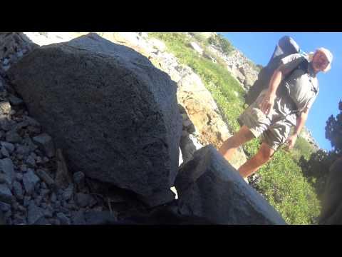 Blind Hiker on Tahoe Rim Trail