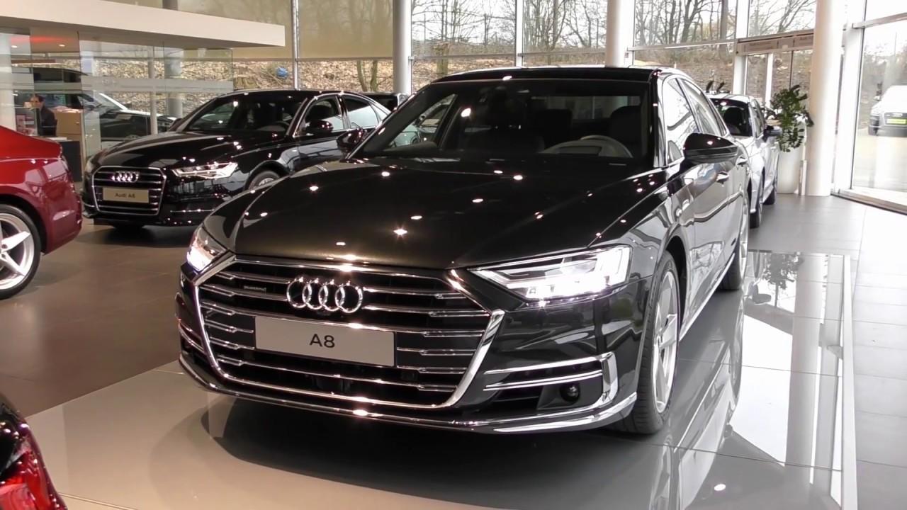 Audi A8 - Vesuviusgrijs - YouTube