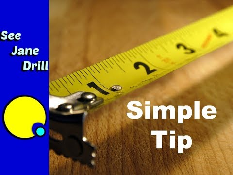How to Read a Tape Measure or Ruler (USA/Imperial)