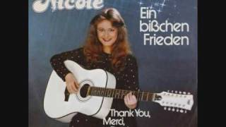 Nicole-Ein Bisschen Frieden*7 different languages*