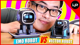 Vector Robot Vs EMO Robot  My Honest Comparison