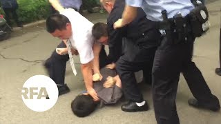 Hong Kong Journalist Arrested and Attacked in Beijing | Radio Free Asia (RFA)