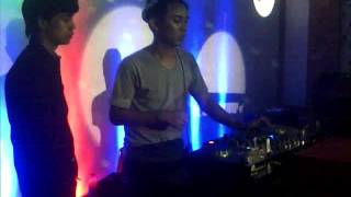 Dj Cua Nugraha On the Stage@ Queen club