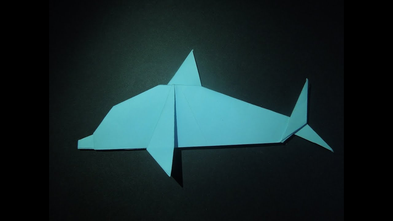how to make a dolphin out of paper origami dolphin origami