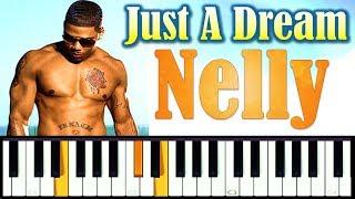Nelly - Just A Dream (piano cover + ноты)
