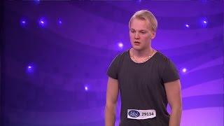 Andreas Nordgren - Gonna love you av Avicii (hela audition) - Idol Sverige (TV4)